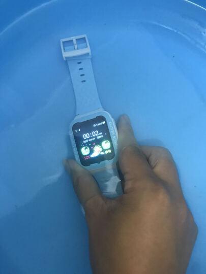 【进水包换】智能儿童电话手表手机通话GPS安全定位跟踪培养中小学生防水定位防丢男女 白蓝色 晒单图