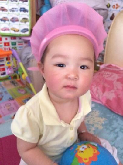 kair 美国宝宝洗头帽可调节婴儿气垫洗澡帽儿童浴帽小孩洗发帽防水 2代可调节-粉色 晒单图