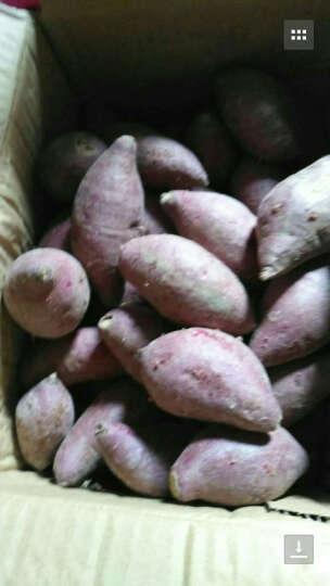 聚怀斋 越南小紫薯2500g 迷你番薯 新鲜现挖地瓜 香薯 紫芋头 迷你紫薯 晒单图