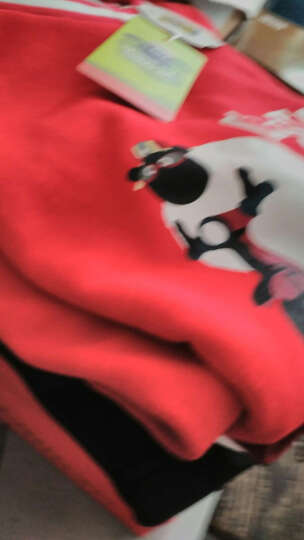 小羊肖恩童装儿童裤子18春秋款男童裤子运动休闲女童裤子纯棉儿童卫裤 11(侧边口袋徽章)灰色 140cm 晒单图
