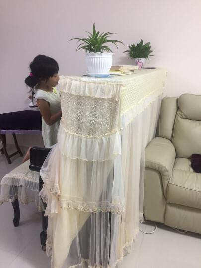 田园钢琴罩全罩钢琴套防尘罩钢琴披 三种赠品  颜色随机 晒单图