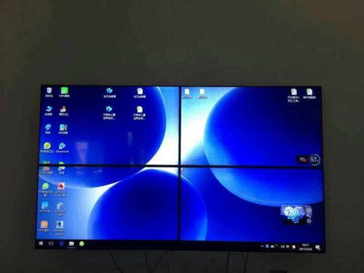康普瑞液晶拼接屏会议演示拼接电视墙安防监控液晶电视墙3.5mm窄边拼接显示器商用拼接大屏 42英寸8mm拼缝(奇美) 晒单图