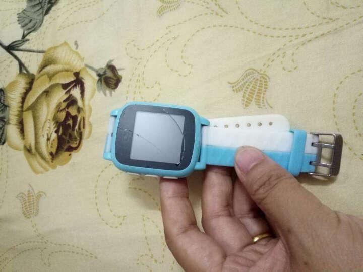 尚想A1儿童智能触摸屏电话手表儿童学生插卡电话手表手机兼容苹果三星防水手表 海蓝色 晒单图