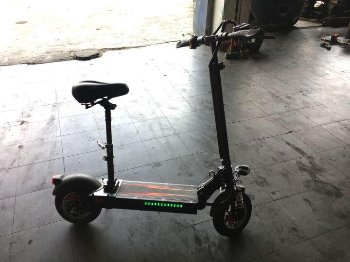 贝莱威智能锂电池电动滑板车成人代驾折叠电动车迷你小型电动自行车两轮电瓶车代步车体感车送座椅 至尊版18AH 48V500W续航70-80公里 晒单图