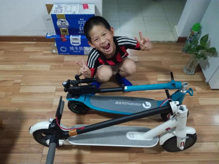 半驴电动滑板车 成人/学生 迷你/便携/折叠双轮休闲代步车/电动车 白色 蓝牙青春版 晒单图