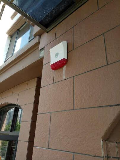 创高(CHUANGO) 创高安防智能家居监控户外无线四光束红外栅栏红外对射探测器报警器配报警主机用 户外现场套装 晒单图