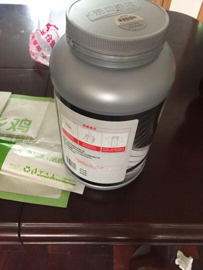 汤臣倍健 乳清蛋白 增肌粉 健肌粉营养强化固体饮料1360g(香草味)3磅 晒单图