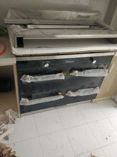 霸帝电(BADI) 集成灶双电机定时头部加热侧吸烟自动清洗优美大方霸帝电(BADI)59 750黑色大拉手标 天然气 晒单图