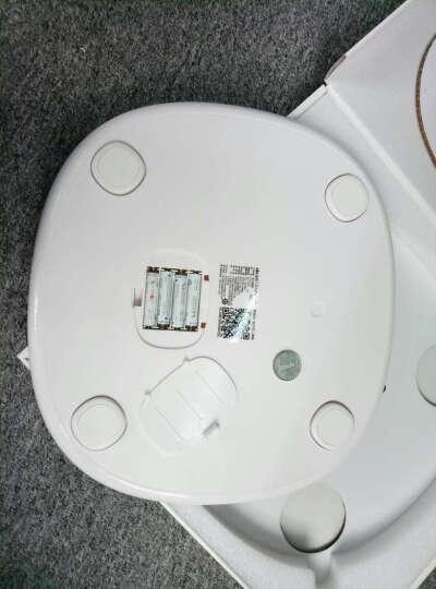 乐心 S3 电子秤 体重秤 电子称 智能WiFi数据传输 微信互联(黄色) 晒单图