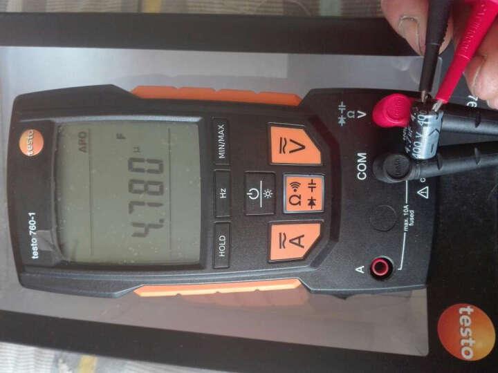 德图数字万用表testo760-1数显自动量程万能表德国高精度原装0590 7601 760-2 testo760-1 晒单图