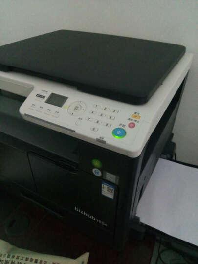 柯尼卡美能达复印机黑白激光A3打印机美能达6180e/7818E/185E扫描A4打印复印一体机商用 7818e(无需安装/插粉即用/每分钟18页/黑) 主机 晒单图