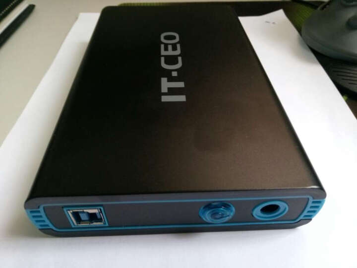 IT-CEO 移动硬盘盒2.5英寸USB3.0 SATA串口笔记本硬盘外置盒子 SSD固态硬盘座 蓝 IT-700 晒单图