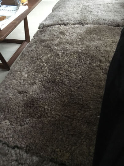AUSKIN澳世家椅垫坐垫卷花羊毛简约现代 巴斯椅垫-撒哈拉 SH 45x45cm 晒单图
