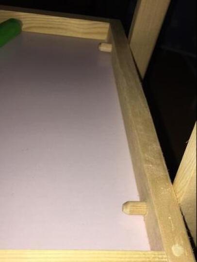贝能儿童画板磁性小黑板笔彩色小孩幼儿磁力宝宝涂鸦写字板 1-3岁玩具 D款小号(可升降66-116cm) 晒单图