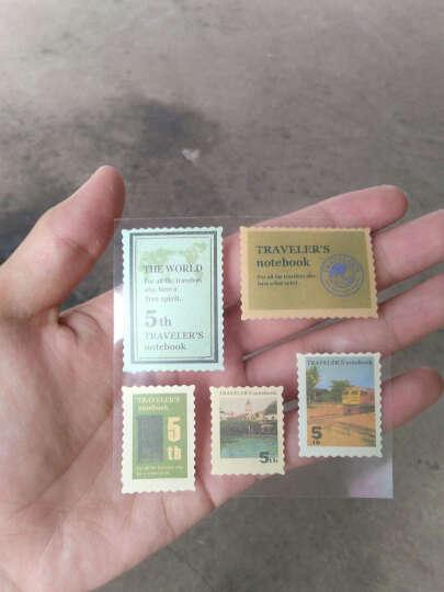 邮票贴纸怀旧复古 旅行手账本装饰行李拉杆箱贴画 创意DIY小礼物 怀旧邮票贴纸五周年 晒单图