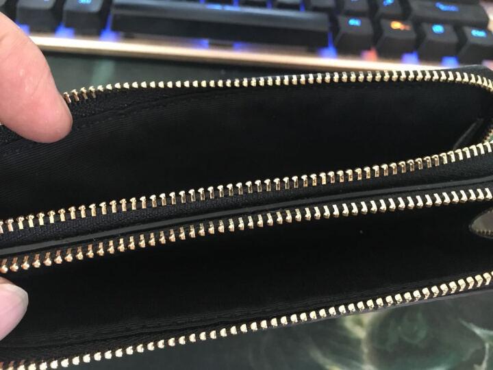 COACH 蔻驰 女式手拿包 黑色皮质零钱包 F66505 IMBLK (66505 IMBLK) 晒单图