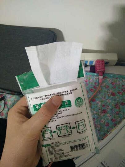 环保妈妈 906反折茶包10cm*7cm无纺布袋泡茶袋/茶叶袋60枚装卤味包药包袋 1包60枚装 晒单图