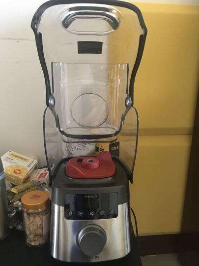 飞利浦(PHILIPS) 破壁机 榨汁机 家用电动果汁机 水果机 高速搅拌机 HR3868/00 高达45000转/分防护罩版 晒单图