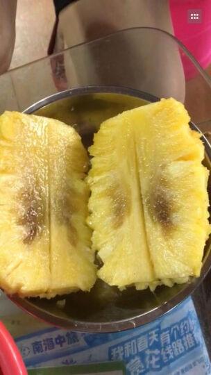台湾金钻凤梨2个装 树上红凤梨新鲜进口热带水果 无眼甜凤梨非菠萝  晒单图