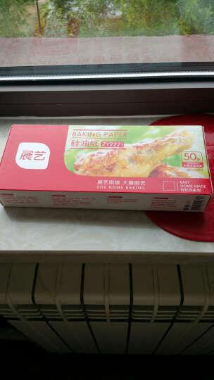 展艺 硅油纸 烧烤烤肉垫纸  烤箱烤盘纸 一盒50张 42厘米*24厘米 晒单图