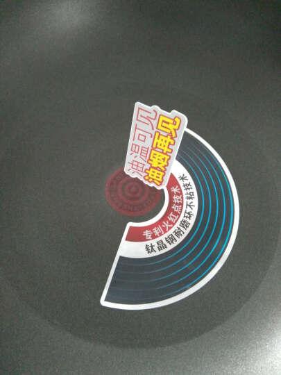 苏泊尔 火红点2代 无油烟不粘锅炒锅 燃气灶专用 32CM PC32R4 晒单图