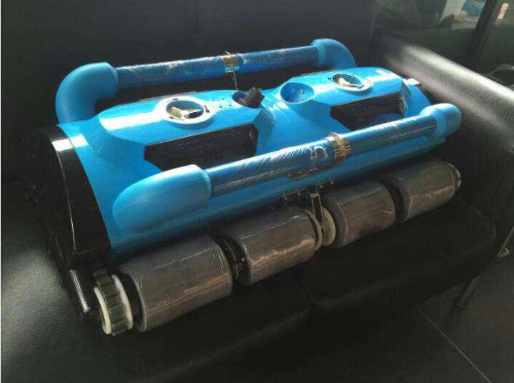 POOLMATE游泳池自动吸污机水下吸尘器水龟水池底清洁机器人无人机设备过滤吸污机可爬墙 遥控器(不含机器) 晒单图