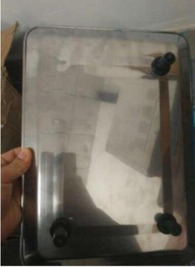 新科力(SINCOLY) 电子秤台秤商用电子计价秤 红字干充两用 晒单图