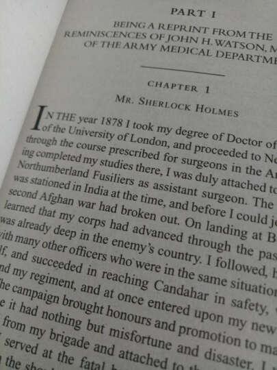 福尔摩斯探案全集 英文原版小说 2册全套 Sherlock Holmes 侦探小说悬疑推理 晒单图