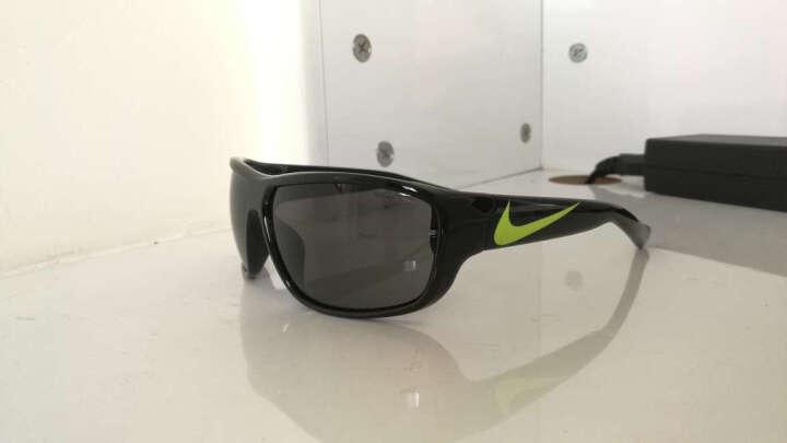 NIKE 耐克 男款黑色镜框灰色镜片眼镜太阳镜  EV0781 071  62mm 晒单图