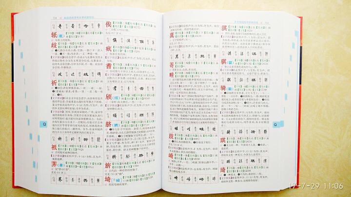 新华大字典(大字本 第3版) 晒单图