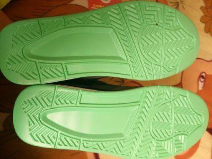 【拍下158元】tcellars AJ4篮球鞋高帮运动鞋男高弹减震耐磨战靴气垫鞋透气男鞋 6005-黑色 41 晒单图