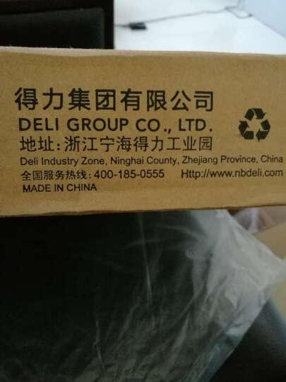 得力(deli) 8015 钢质切纸机/切纸刀/裁纸刀/裁纸机 250mm*250mm 晒单图