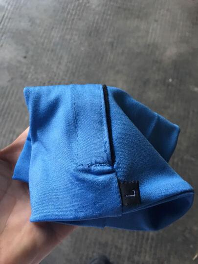 MOOV  跑步手机臂包运动手臂包臂零钱钥匙健身装备臂带男女臂套手腕包 健身房男女通用 蓝色健身款 30-36CM(L) 晒单图