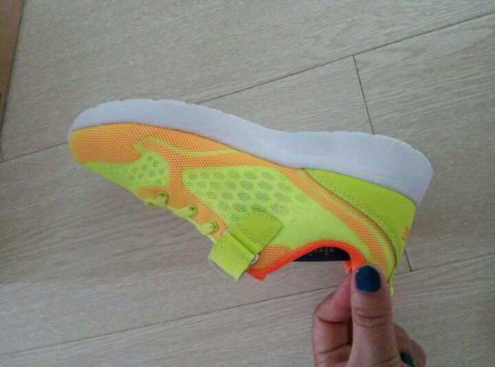 鸿星尔克 ERKE 儿童运动鞋 舒适耐磨儿童综训鞋 63117114072 浅灰/正黑 38 晒单图