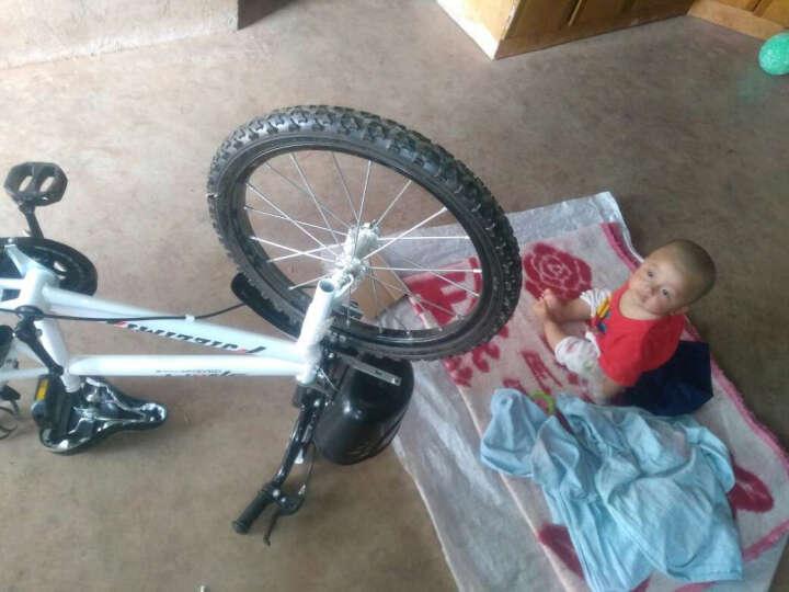 杰里米 男女童车儿童自行车14寸16寸12寸带辅轮 3/6/8岁小孩山地车宝宝小学生单车 14寸带水壶车篮 晒单图