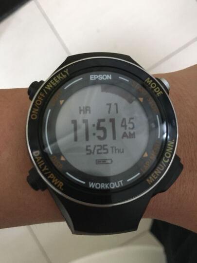 爱普生(EPSON)RUNSENSE SF-850 GPS运动腕表 别致黑 晒单图