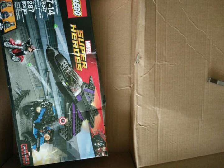 乐高 LEGO 超级英雄 DC漫画复仇者联盟 拼装 儿童玩具 积木拼插 76059蜘蛛侠章鱼博士之战 共446颗粒 晒单图