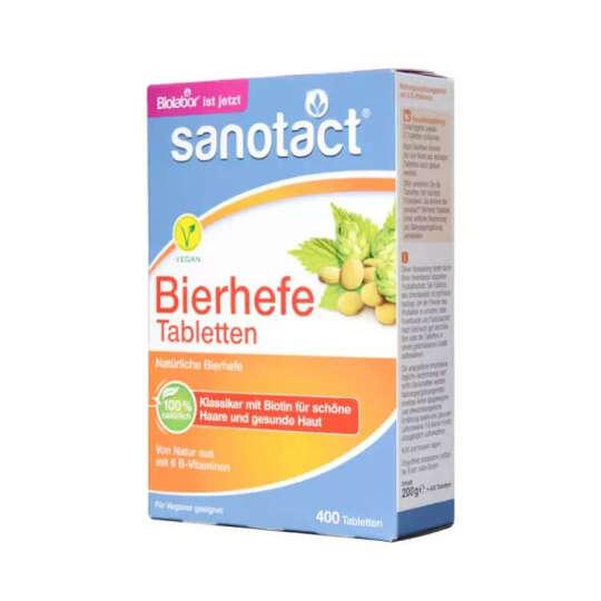 德国进口Biolabor贝欧宝啤酒酵母片补维生素减脂清肠促消化缓解便秘 2盒装 晒单图
