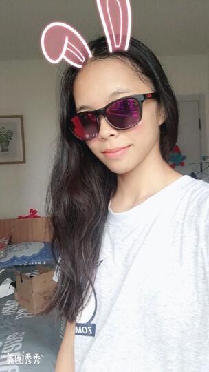 OAKLEY 欧克利太阳镜男女款 Stringer休闲系列太阳镜 OO9315-0555 黑色镜框紫色镀膜镜片墨镜 晒单图