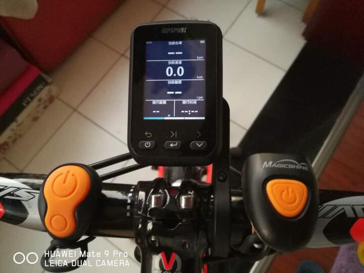 洛克兄弟 iGPSPORT iGS60自行车GPS码表踏频心率功率无线蓝牙彩屏防水 码表+新款速度感应器+新款踏频感应器+心率带 晒单图