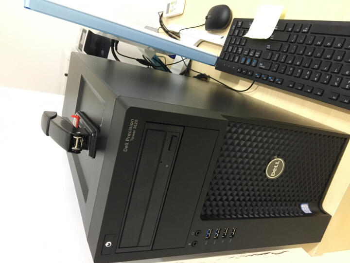 戴尔(DELL) Precision T3620(T1700升级款)图形工作站/支持定制 酷睿I5-6500四核 3.2GHz 16G内存1T+256G原装固态W5100-4G 晒单图
