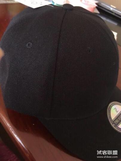 【爆款疯抢】初荷棒球帽子男女士鸭舌帽韩版潮夏季休闲遮阳帽户外运动嘻哈帽 经典款(棉)-黑色 晒单图