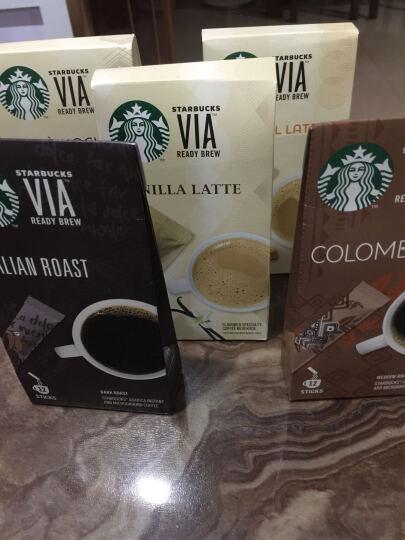 星巴克咖啡VIA香草拿铁+摩卡风味+焦糖风味组合287.6g进口咖啡白咖啡 (意式+哥伦比亚+香草+摩卡+焦糖)咖啡 晒单图