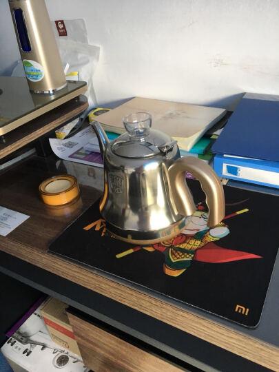 心好(xinhao) 智能遥控式全自动上水电热水壶  抽水式电水壶 电茶炉茶具套装H2 B1玻璃双炉带遥控 晒单图