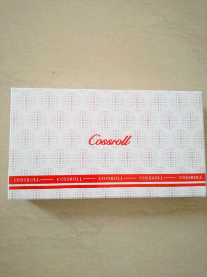 Cossroll新款女士钱包牛皮手拿包韩版时尚钱夹女包钱包女长款真皮 红色 晒单图