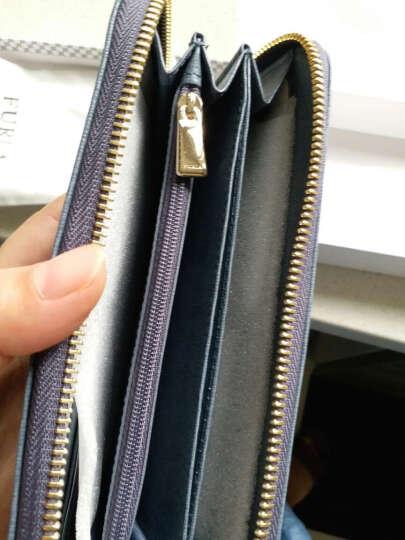 FURLA芙拉2016女款BABYLON系列灰色牛皮欧美经典轻奢钱夹 851527 晒单图
