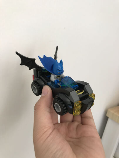 乐高 小拼砌师系列 4岁-7岁 蝙蝠侠与超人大战莱克斯卢瑟 10724 儿童 积木 玩具LEGO 晒单图