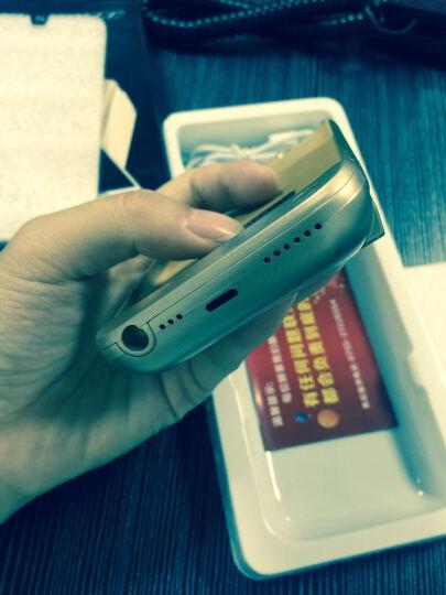 【秒杀中】索致背夹电池苹果充电宝iphone6/6s/7/8plus手机无线移动电源专用壳个性超薄冲 6/6S/7/8  (4.7英寸 土豪金) 大容量 晒单图