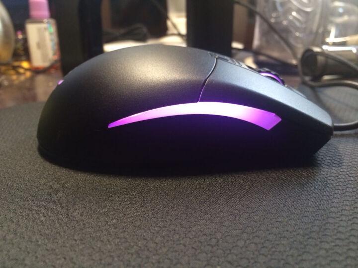 AKKO 复古猫 RGB  有线游戏鼠标 电竞鼠标 吃鸡 红色迷彩(磨砂) 晒单图