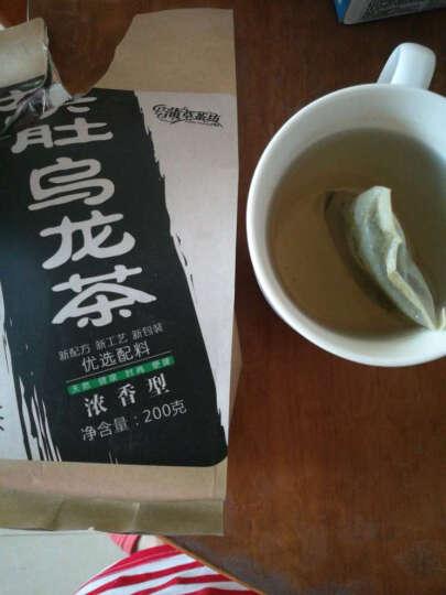 蒲草茶坊大肚子乌龙茶荷叶茶大肚子黑乌龙茶 200g/袋 晒单图